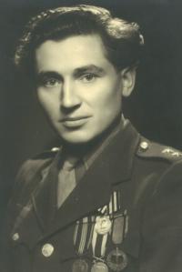 Vasil Timkovič shortly after the war