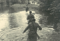 The military training after the war