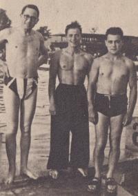 Zprava Viktor Fisch, Fredy Rosenberg a Josef Herberg z Frýdku, Lvov léto 1940