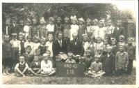Jaroslava Stará in the 1st grade