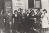 60. léta - profesor na střední škole