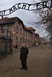Vladimír Munk po 75 letech v Osvětimi