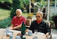 At friends in Liberec, 1990s