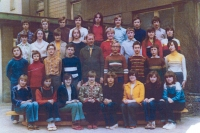 Jako třídní učitel (1976-79)