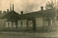 Zdeněk Doležal's family's house in Zdolbuniv, circa 1924.