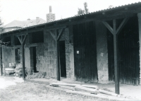 Building of the Scout centre in Bludov before reconstruction