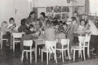 Jaroslava Blešová in nursery school