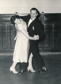 Eduard and Stanislava Císař; the 1950s
