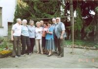 Jiří Lang, setkání s přáteli
