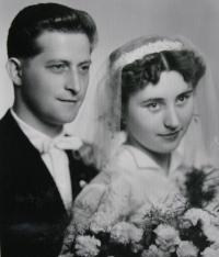 Jiří Lang, svatební foto