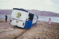 Zájezdy CK Turistika a Hory autobusem Karosa, Kavkaz, počátek 90. let