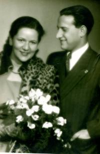 Svatební foto Vladimíra a Kitty Munkových