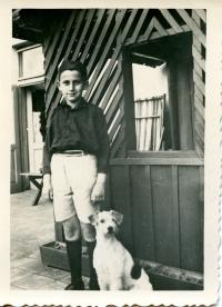Vladimír Munk se svým psem Cigim