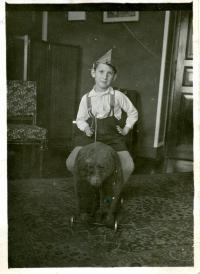 Vladimír Munk v dětství