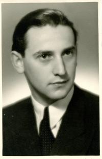 Vladimír Munk v roce 1951