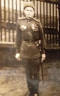 Pametnik v Rude armade, 1945