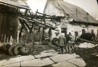 Žalostný stav pivovaru, ve kterém byl rodině v roce 1989 předán