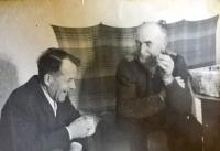 František Musil (vpravo)