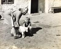 Aloisie Musilová s vnučkou Dagmar