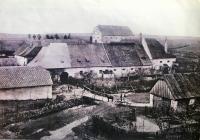 Fotografie pivovaru z roku 1912