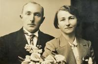 František Musil a Aloisie Dvořáková (Doležalová)