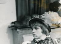 Roman Skamene in the film Princ a chuďas, 1971