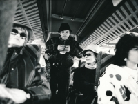 Roman Skamene in the film Bony a klid, 1987