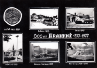 Keepsake from anniversary celebrations of Hrabyně