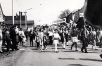 First-of-May celebrations, Hrabyně, from the 1970s