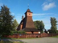 Wooden church in Hrabová