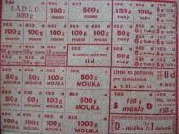 Food tickets