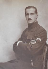 Josef Štancl, the witness' father