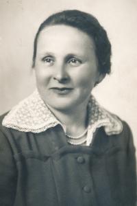 Anastázie Mandysová, matka Hany Pavelkové