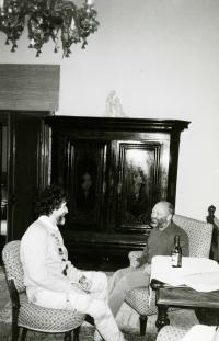 Ivan M. Havel, Zdeněk Neubauer, Bechyně, 1988