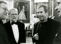 Lucerna 2008: Václav Havel, Ivan M. Havel, Daniel Kroupa
