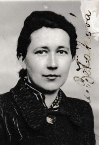 The mother Jarmila Běťáková