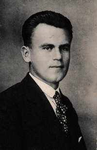 The father JUDr. Alois Běťák after his studies in 1931