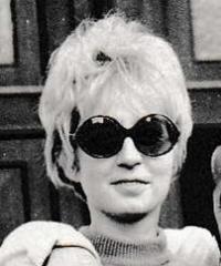Zdenka Burešová in 1976