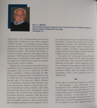 Excerpt from the presentation of Jaromír Ulbrecht in the Almanac of the Academy of Sciences of the Czech Republic
