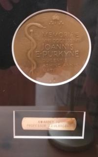 Award of the commemorative medal of Jan Evangelista Purkyně
