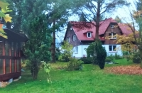 The house in Rumburk, where after many years of emigration and international scientific careers, Mr. Ulbrecht lives at the age of 90 years