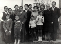 A family celebration 1976, the witness on the right