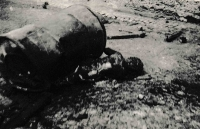 One of the victims of the explosion of a Russian tank in Desná in the Jizera Mountains, which occurred on August 21, 1968 around noon
