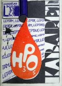A poster for the Cabaret H3PO4 performance