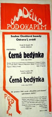 A poster / 'Černá bedýnka' (The Black Box)