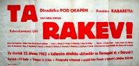 A poster / 'Ta rakev' (That Coffin)