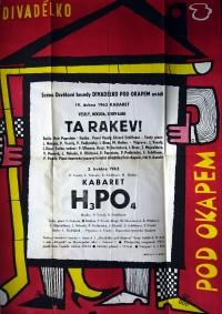 Pod okapem Theatre poster / spring of 1962