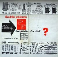A poster / 'Kabaret pro štěstí'