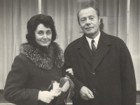 Eva and Karel Štancl, 1971