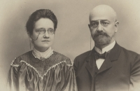 František and Pavla Okenfus, grandparents of Eva Štanclova